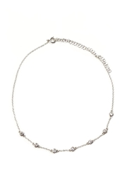 Lets Accessorize Embedded Rhinestone Choker - Product Mini Image