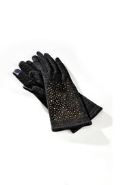 Giftcraft Inc.  Embelished Texting Gloves - Front cropped