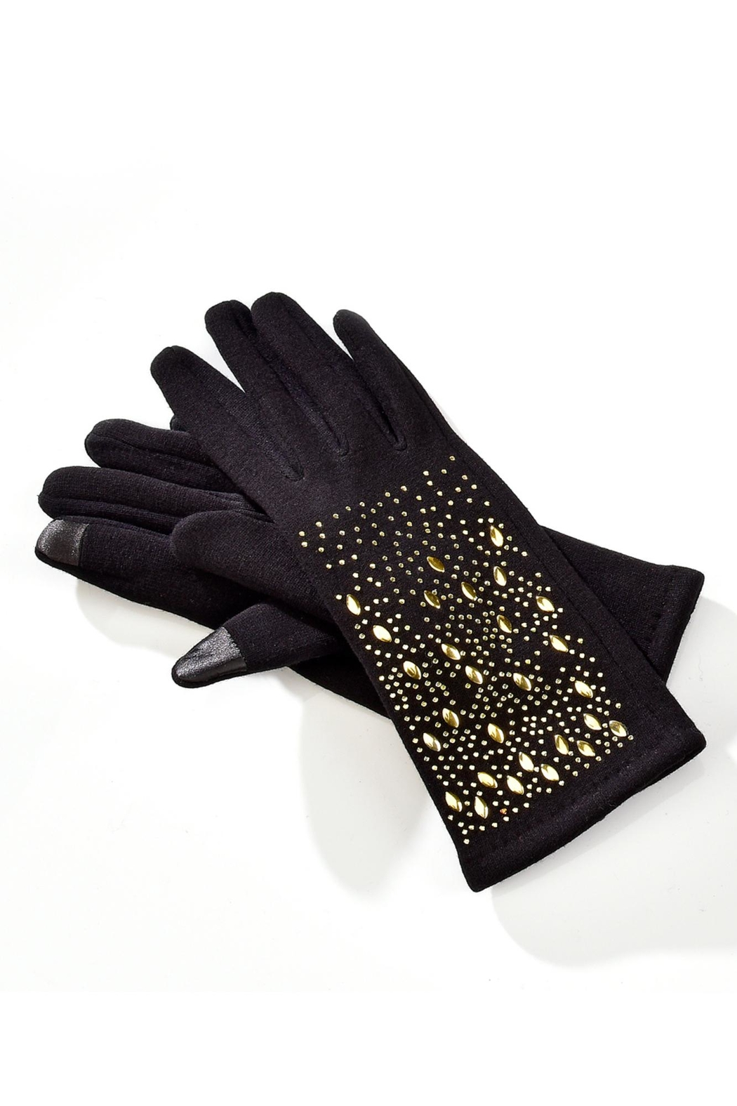 Giftcraft Inc.  Embelished Texting Gloves - Front Cropped Image