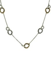 Embellish 2-Tone Long Necklace - Product Mini Image