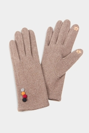 Embellish 4 Button Texting Gloves - Product Mini Image