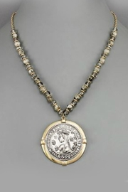 Embellish Antique Coin Necklace - Product Mini Image