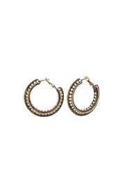 Embellish Antique Hoop Earrings - Product Mini Image