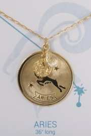 Embellish Aries Zodiac Necklace - Product Mini Image