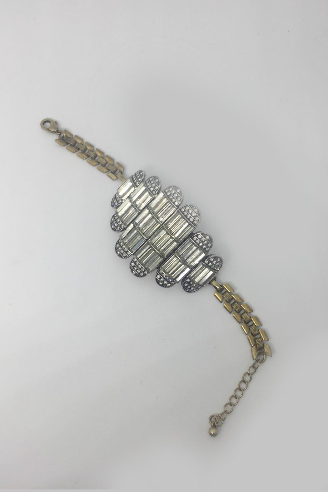 Embellish Art Deco Bracelet - Side Cropped Image