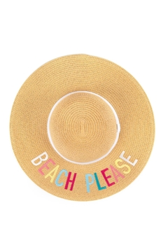 Shoptiques Product: Beach Please Hat