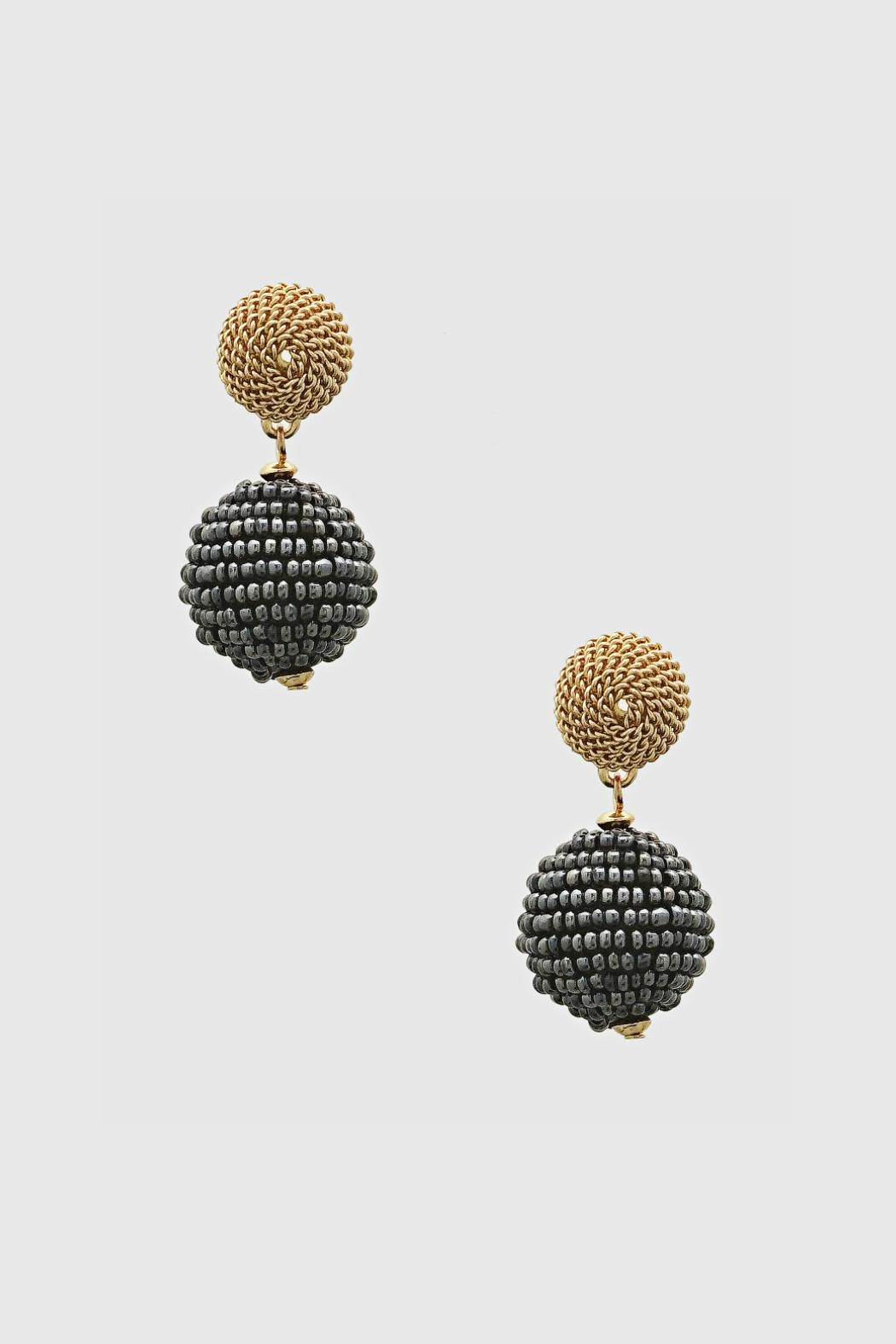 Embellish Bead Drop Earrings - Main Image