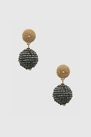 Embellish Bead Drop Earrings - Front cropped