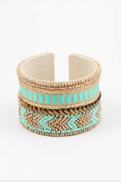 Shoptiques Product: Beaded/linen Cuff