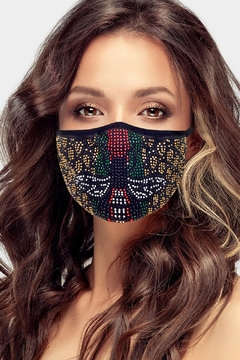 Embellish Bee Bling Face Mask - Product List Image