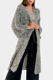 Embellish Bell Sleeved Duster Cardigan - Product Mini Image