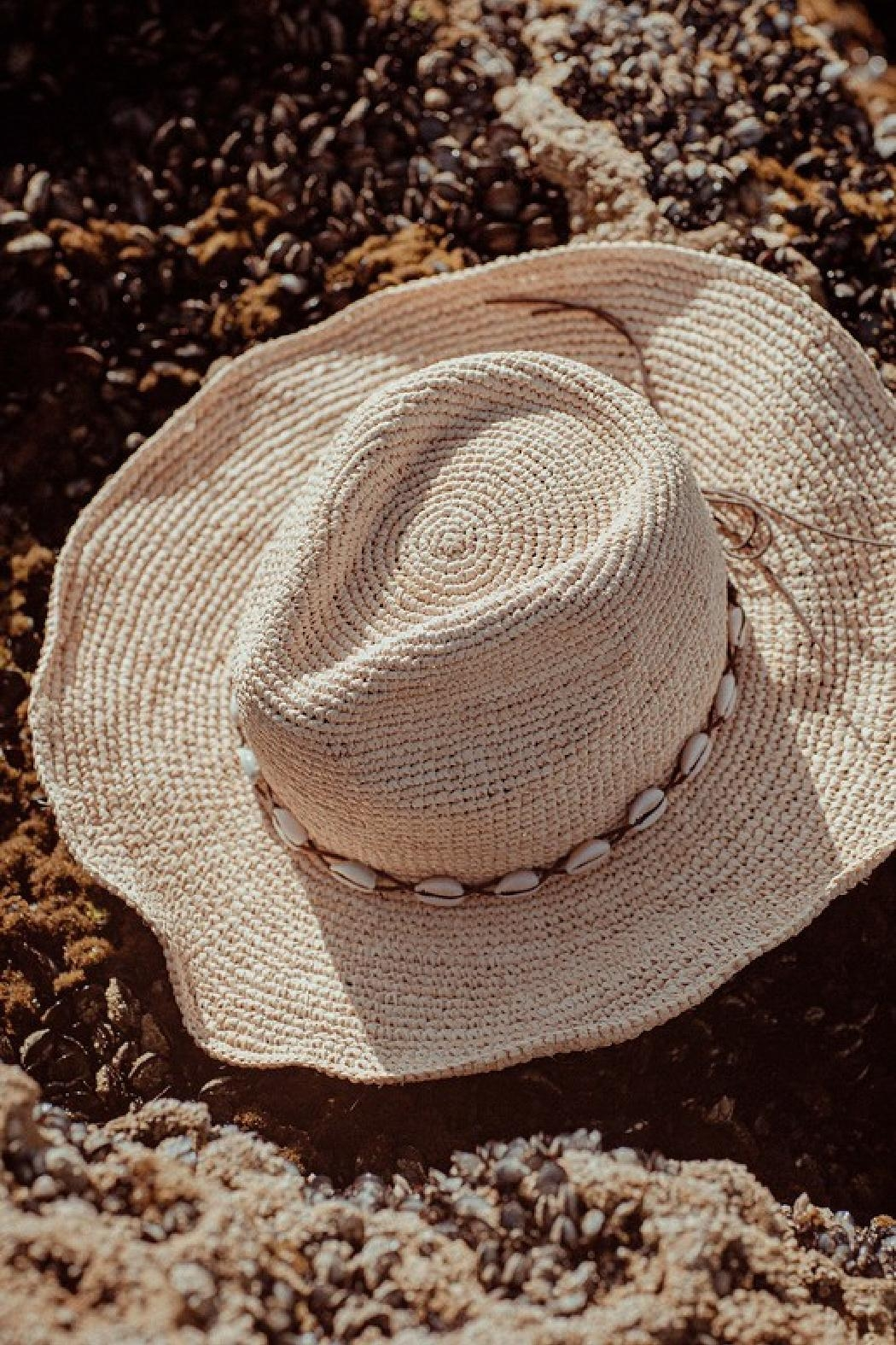 Embellish Best Packable Straw Hat - Main Image