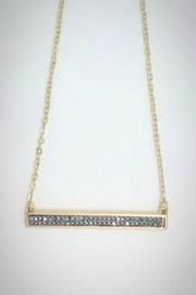Embellish Black Cz Necklace - Product Mini Image