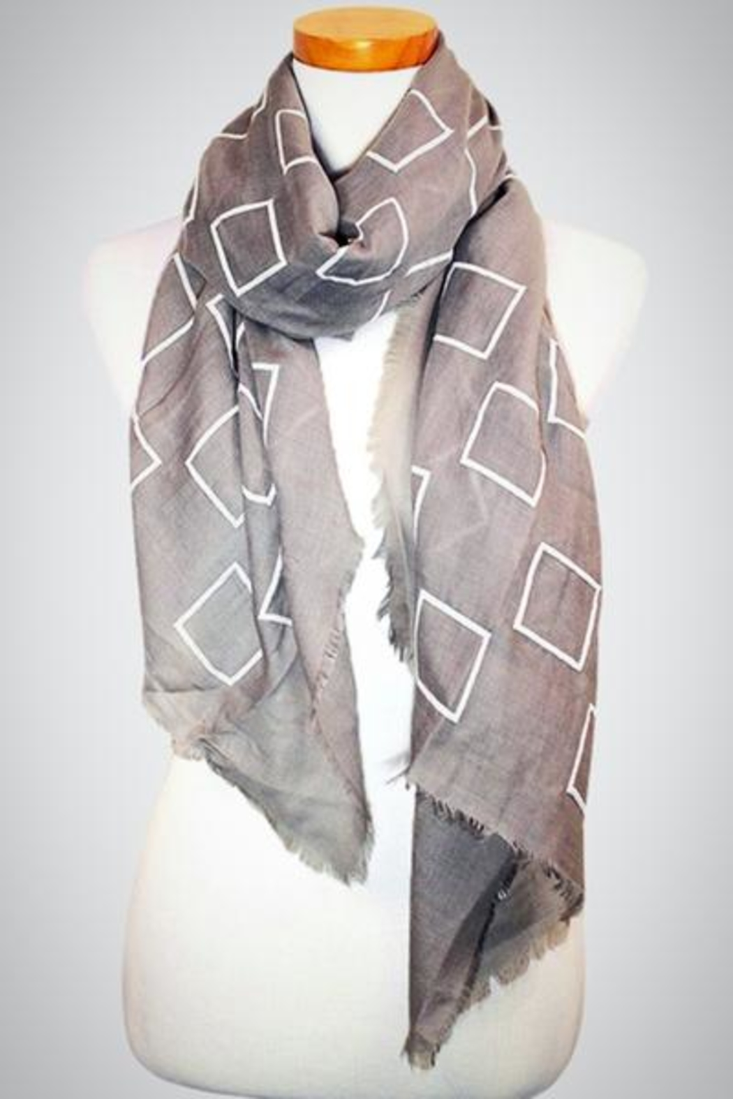 Embellish Block Oblong Scarf - Main Image