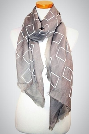 Embellish Block Oblong Scarf - Product Mini Image