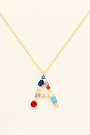 Embellish Bright Initial Necklace - Product Mini Image