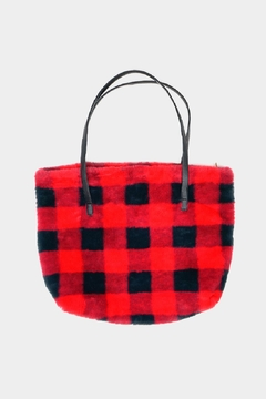 Embellish Buffalo Check Tote Bag - Alternate List Image