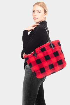 Embellish Buffalo Check Tote Bag - Product List Image