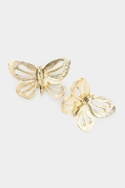 Embellish Butterfly Cut-Out Earrings - Product Mini Image