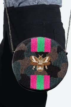 Shoptiques Product: Camo Bee Bag