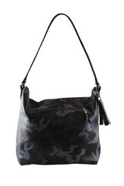 Embellish Camo Leather Hobo Bag - Product Mini Image
