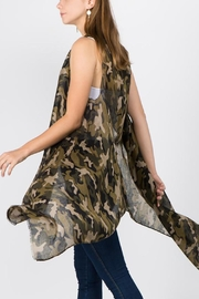 Embellish Camo Vest Scarf - Product Mini Image