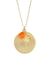 Embellish Cancer Zodiac Necklace - Product Mini Image