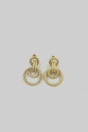 Embellish Gold Hoop Earrings - Product Mini Image