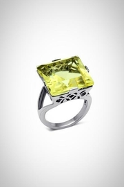 Embellish Citrine Crystal Ring - Product Mini Image