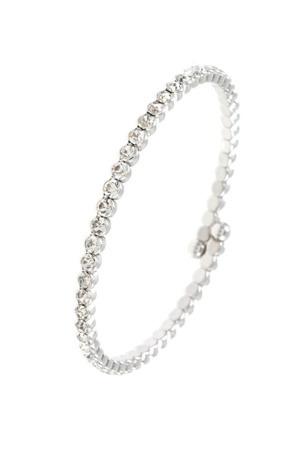 Embellish Clear Flexible Bracelet - Front Cropped Image