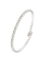 Embellish Clear Flexible Bracelet - Front cropped