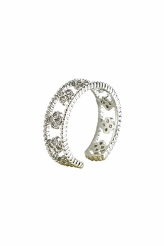 Shoptiques Product: Clover Adjustable Ring