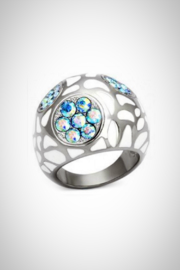 Embellish Cobblestone Crystal Ring - Product Mini Image