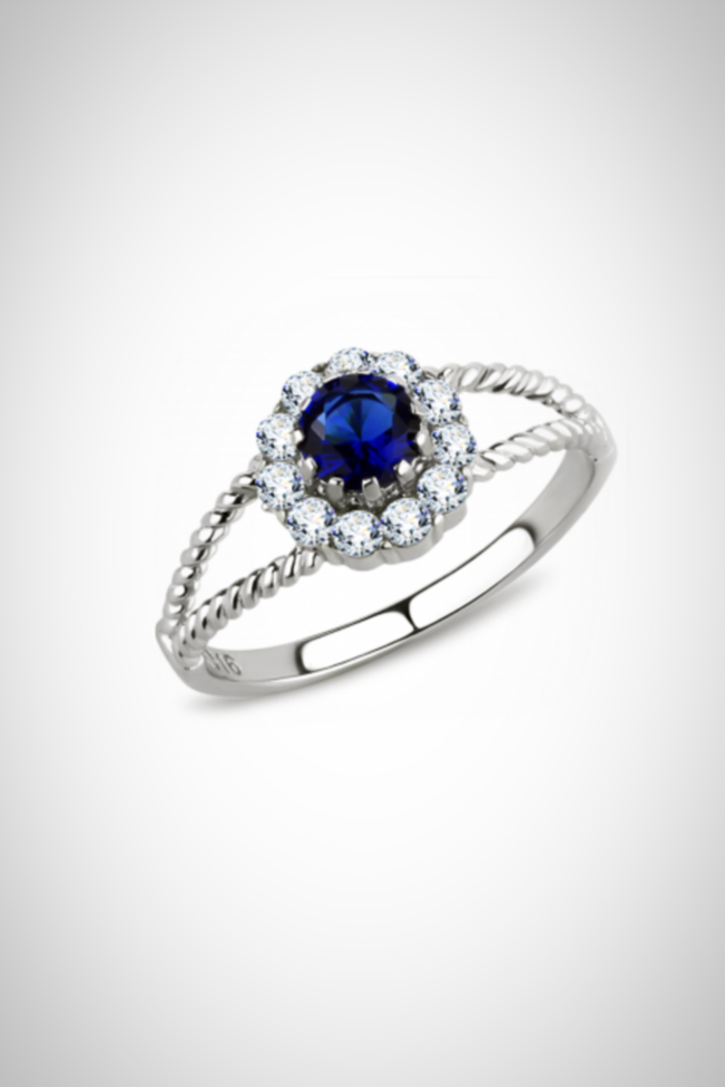 Embellish Solitaire Cz Ring - Main Image
