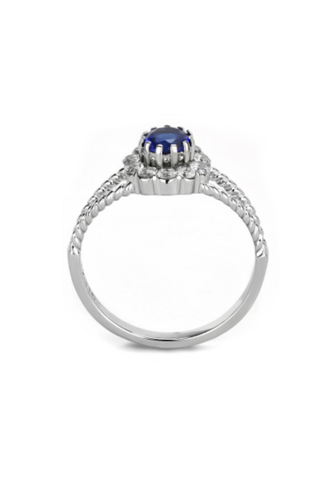 Embellish Solitaire Cz Ring - Front Full Image