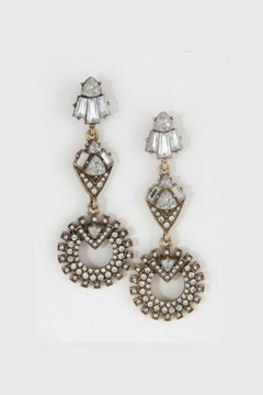 Shoptiques Product: Crystal Chandelier Earrings