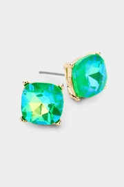 Embellish Cushion Stud Earrings - Product Mini Image