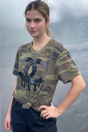 Embellish Designer Inspired Camouflage Tee Shirt - Product Mini Image