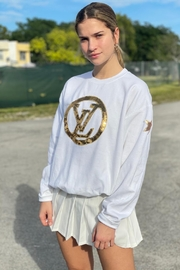 Embellish Designer Inspired Sweatshirt - Product Mini Image