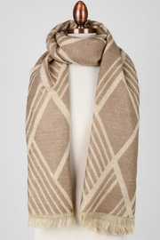 Embellish Diamond Print Scarf - Product Mini Image