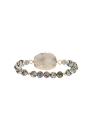 Embellish Druzy Oval Bracelet - Product Mini Image