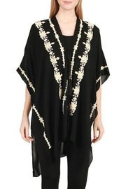 Embellish Embroidered Kimono Vest - Product Mini Image