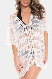 Embellish Embroidered Poncho/cover-Up - Product Mini Image
