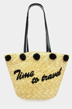 Shoptiques Product: Embroidered Straw Bag