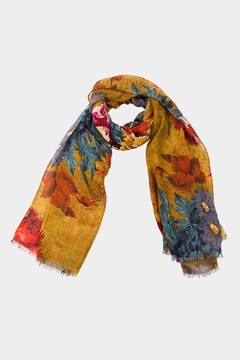 Embellish Floral Jewel Scarf - Product List Image