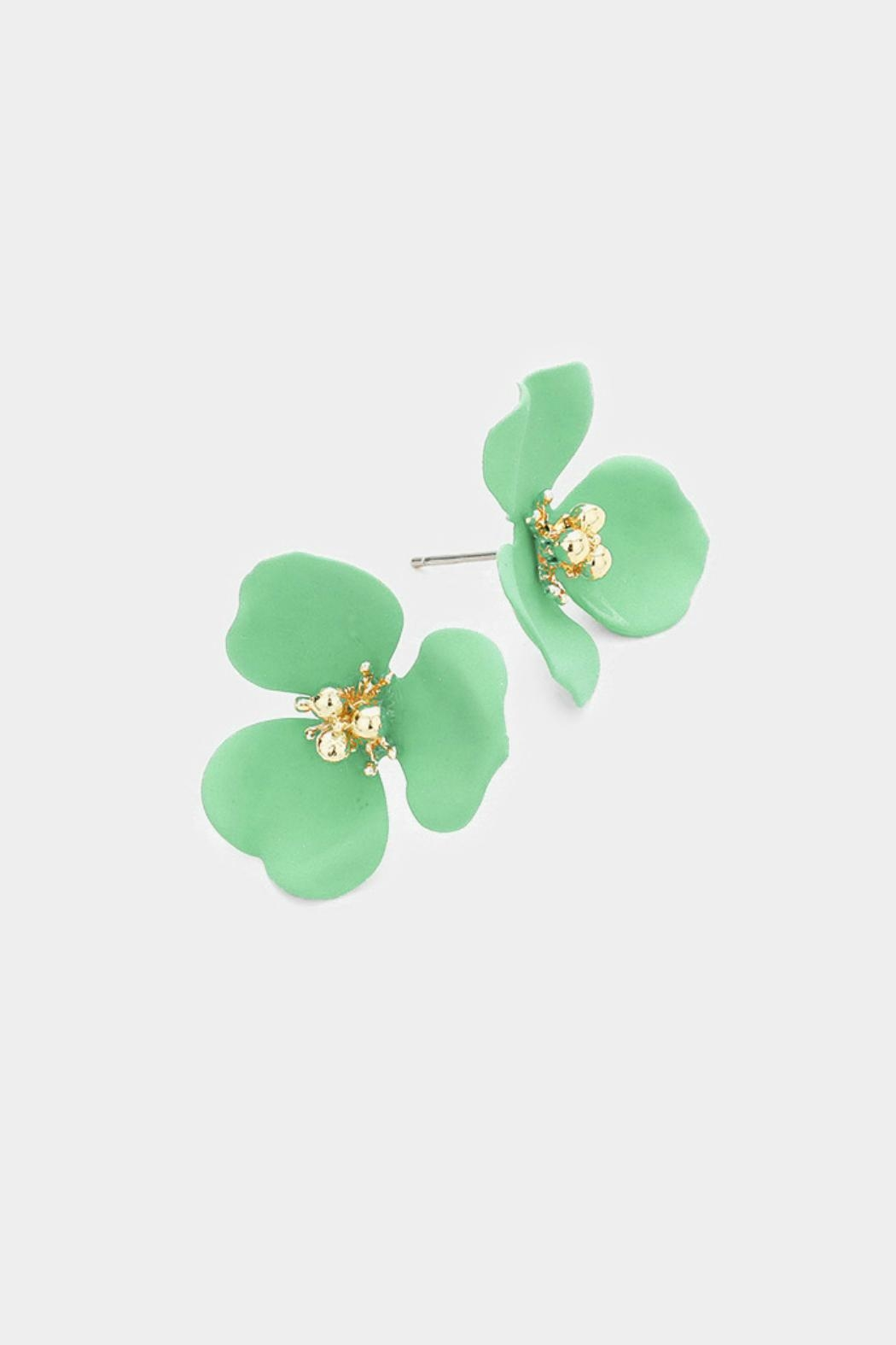 Embellish Flower Bud Earring - Main Image