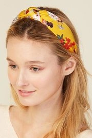 Embellish Flower Headband - Front cropped