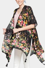 Embellish Flower Kimono Cardigan - Product Mini Image