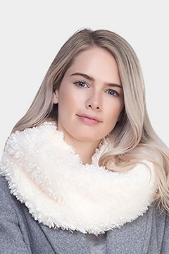 Shoptiques Product: Fluffy Infinity Scarf