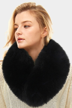 Embellish Fox Fur Scarf - Product List Image